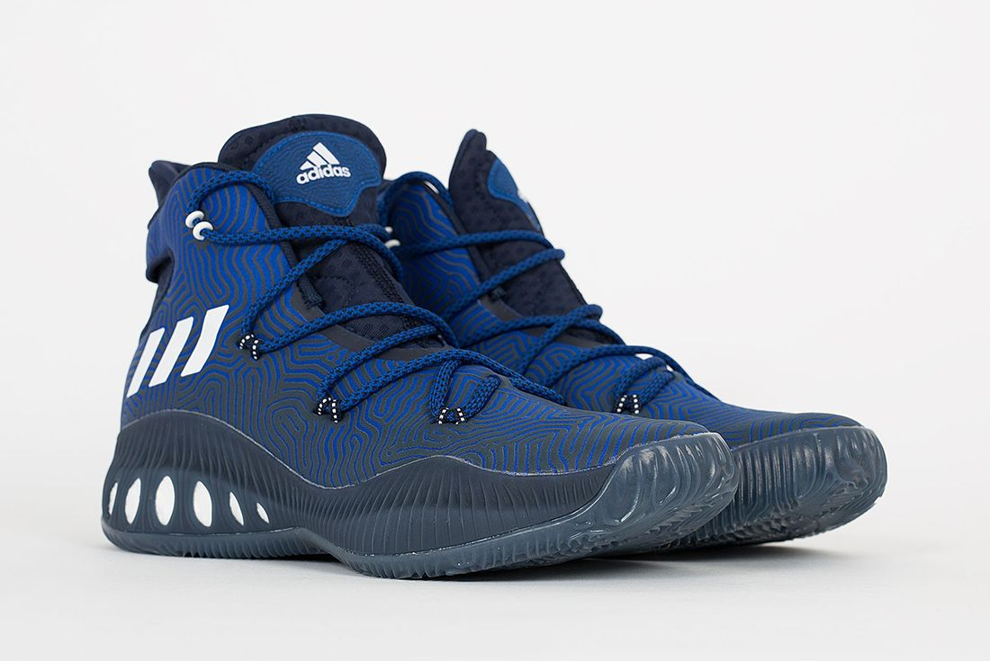 Adidas Crazy Explosive Boost Blue White4