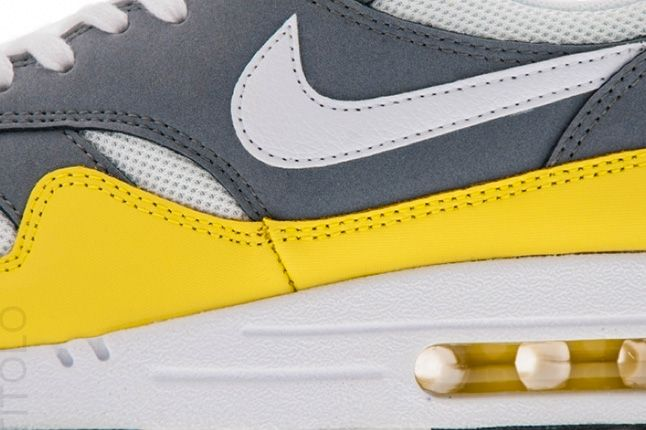 Nike Air Max 1 Essential Cool Grey Yellow 2 1