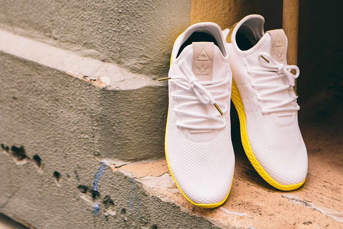 Pharrell Williams X Adidas Tennis Hu Gold6 1