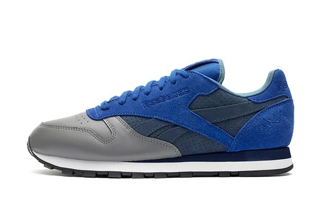 Reebok Classic Leather Stash Blue Profile 1