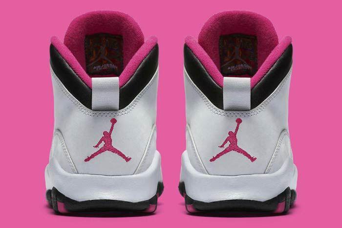Air Jordan 10 Vivid Pink 1