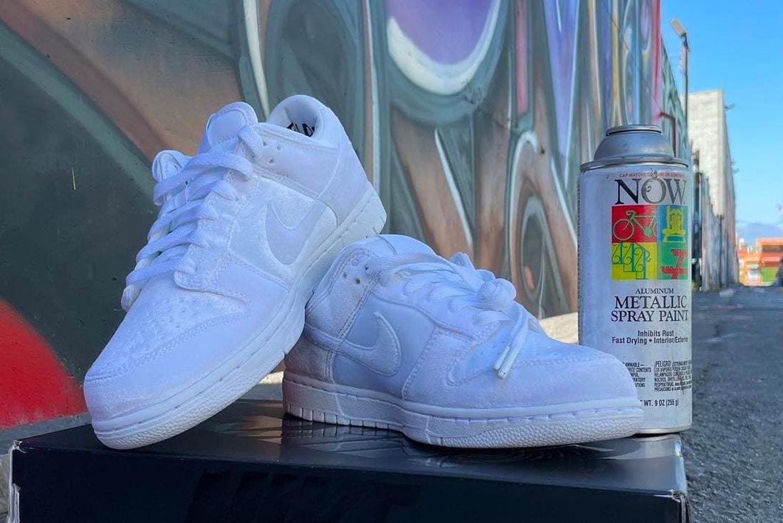 Dover Street Market x Nike Dunk Low 'Triple White'
