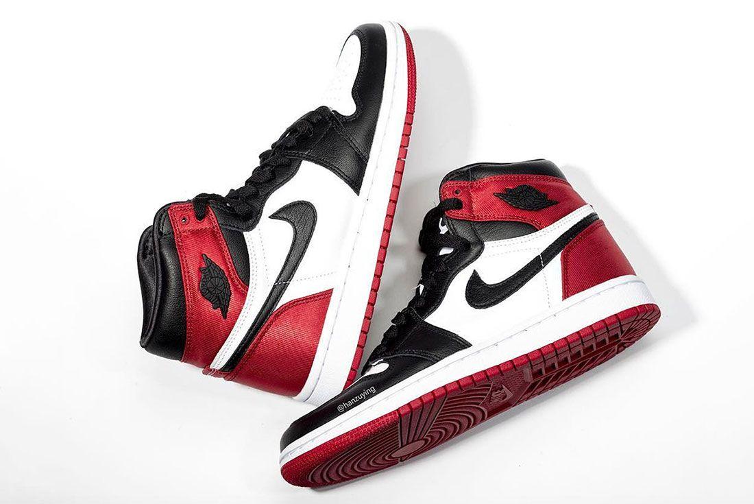 Air Jordan 1 Womens Black Toe Release Date Cd0461 016 2Pair Flat