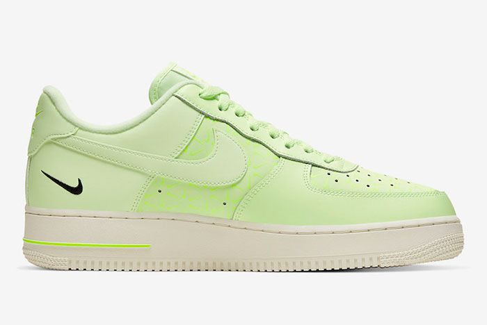 Nike Air Force 1 Low Neon Yellow Ct2541 700 Medial