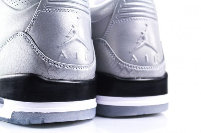 Air Jordan 3 5Lab3 Metallic Silver 2
