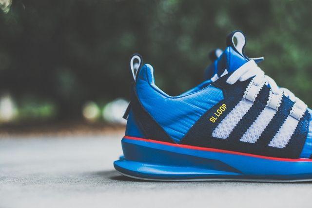 Adidas Sl Loop Runner Blue Bird 2