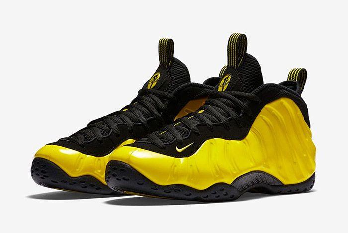 Optic Yellow Nike Foamposite One