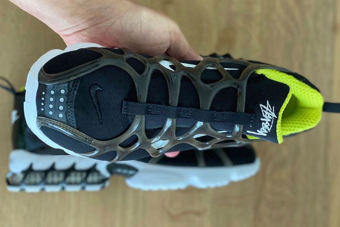 Stussy x Nike Air Zoom Spiridon KK Black Top