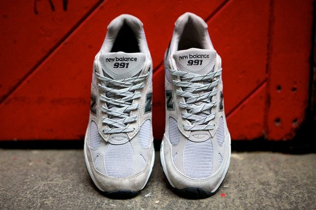 New Balance 991 Made In Usa Grey Black 1
