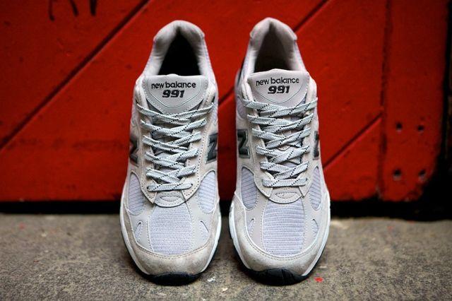 New Balance 991 Made In Usa Grey Black 1