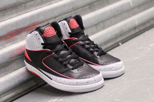 Air Jordan 2 Infrared Cement 5