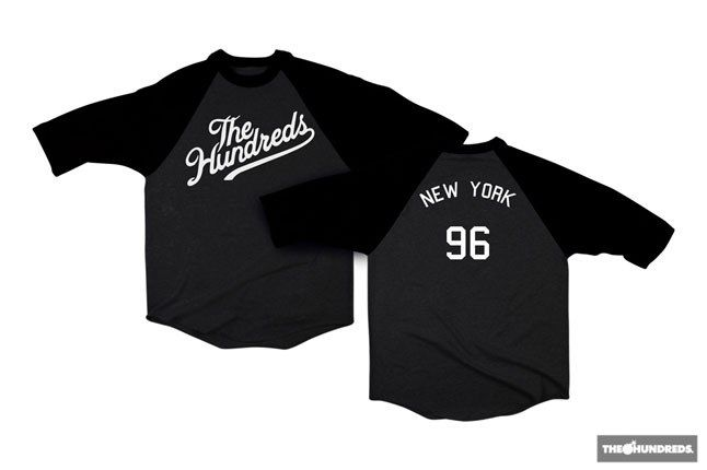 The Hundreds New York Raglan 2