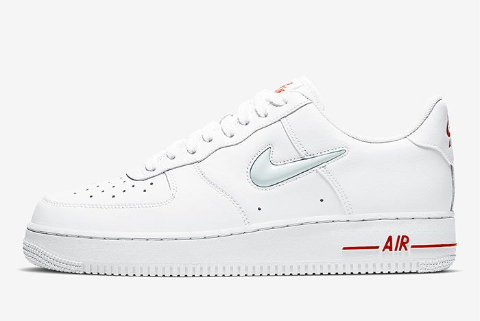Nike Air Force 1 Low Jewel White Left