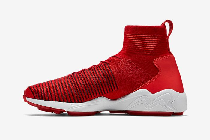 Nike Zoom Mercurial Xi Flyknit Red 2