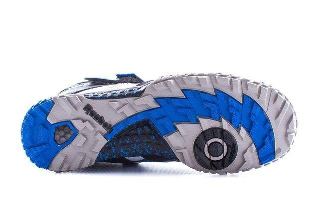 Reebok Pump Paydirt Mid Black Blue 2
