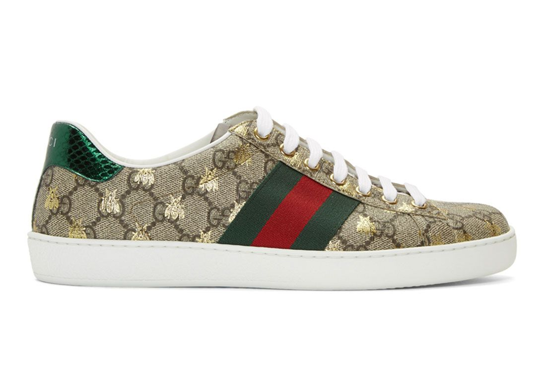 Gucci Ace Gg Bee Side Shot