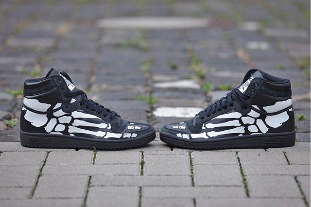 Adidas Top Ten Hi Core Black White7