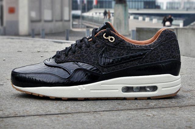 Nike Air Max 1 Fb Woven (Black Leopard) - Sneaker Freaker