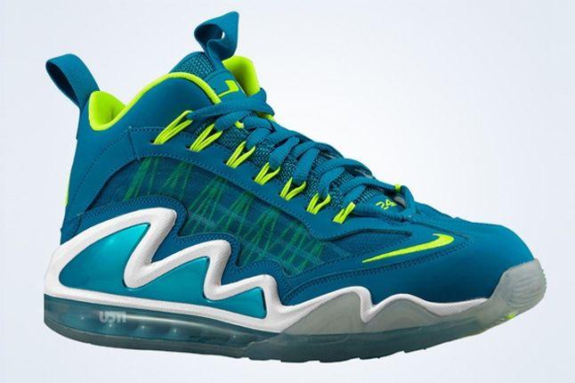 Nike Air Max 360 Diamond Griff Neo Turquoise Volt Profile 1