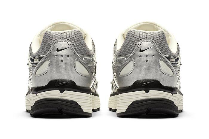 Nike P 6000 Metallic Silver Cn0149 001 Release Date Heel