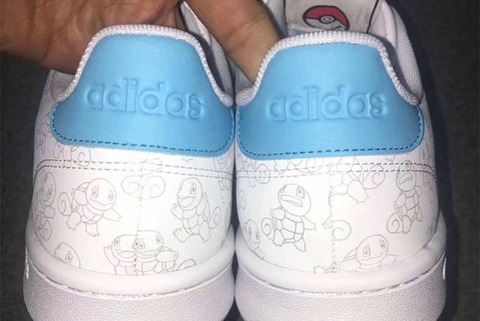 Pokemon Adidas Squirtle Release Date 2 Heel