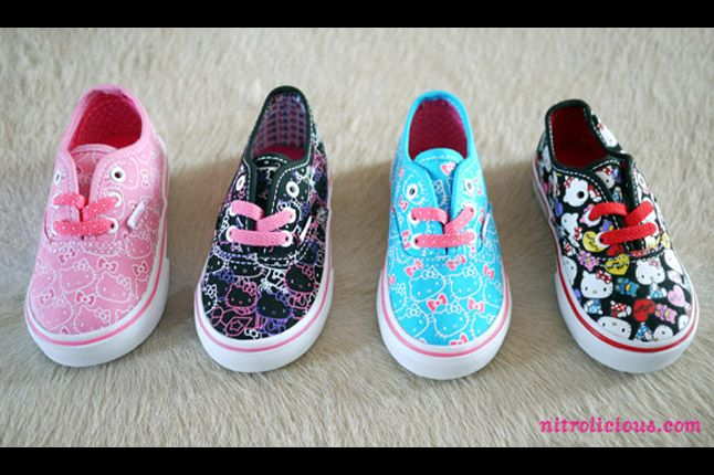 Hello Kitty Vans Summer 2012 08 1
