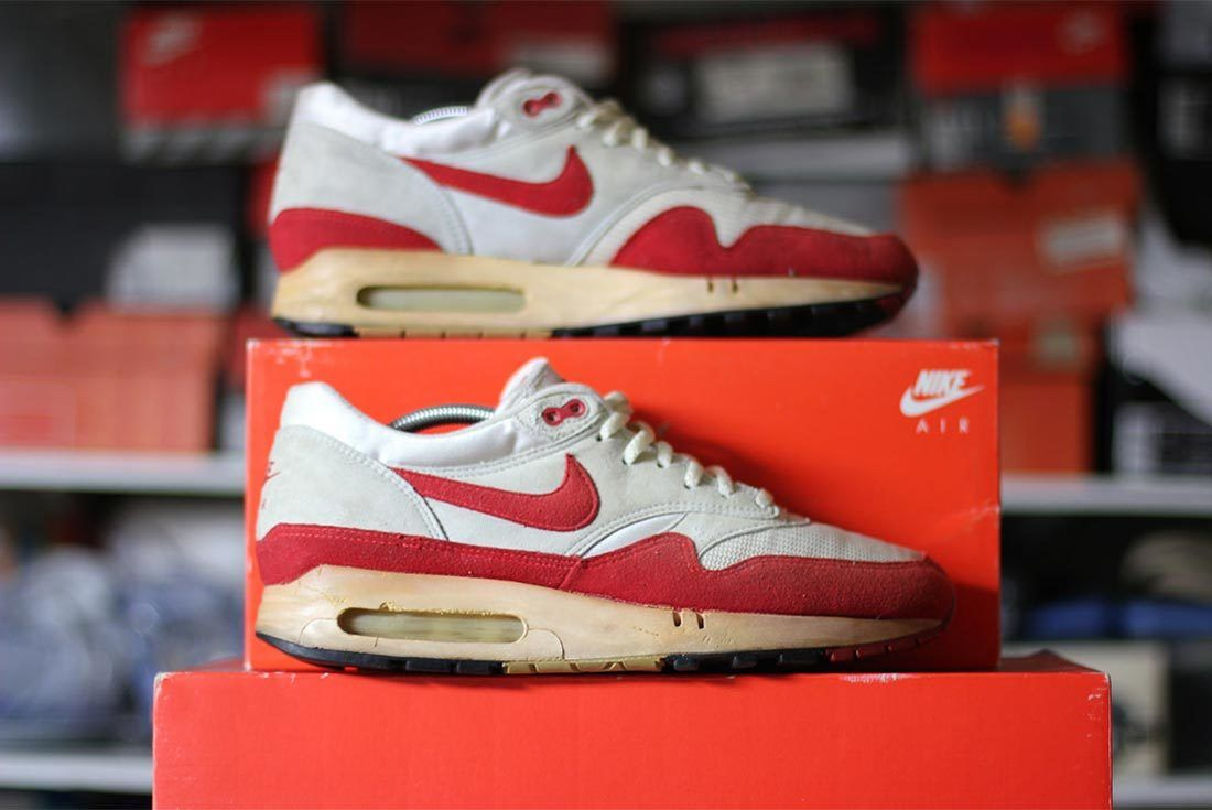 The All Time Greatest Nike Air Max 1S Part One Varsity Red