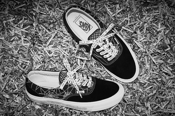 Goodhood Vans Era Love In The Time Of Chaos Release Date Pair