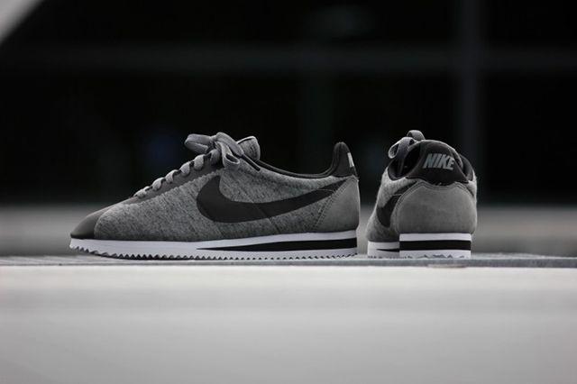 Nike Cortez Tech Fleece Tumbled Grey 3