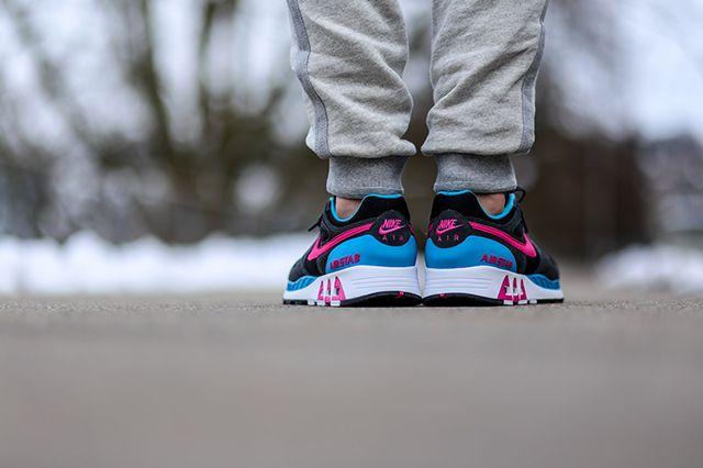 Nike Air Stab Black Teal Pink 2