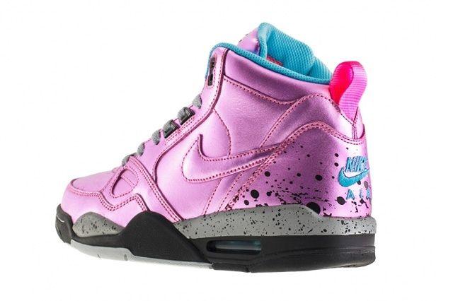 Nike Wmns Flight '13 Mid (Pink Glow