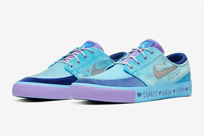 Desiree Castillo Nike Sb Zoom Janoski Doernbecher Quarter