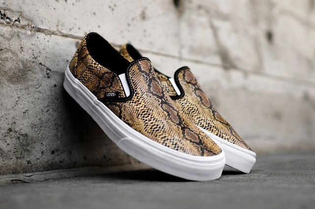 Vans Slip On Snake Collection 5