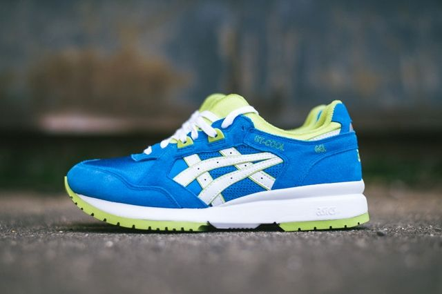 Asics Gt Cool Mid Blue Lime 6