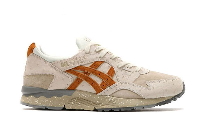 Asics Gel Lyte V Ostrich Slight White Tan 3