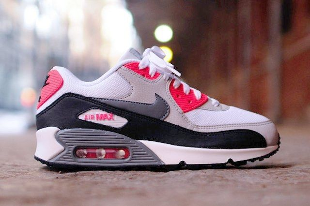 Nike Air Max 90 Essential Cl Grey Infrared 7