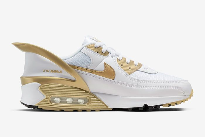 Nike Air Max 90 Flyease Gold Right