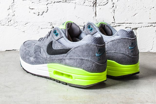 Nike Air Max 1 Premium Grey Volt 2