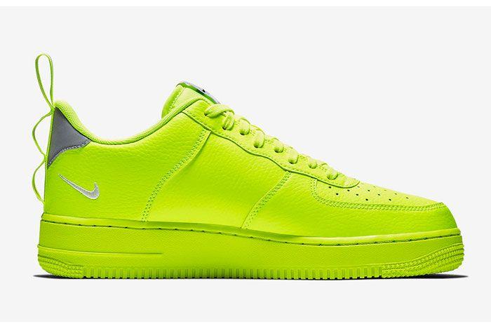 Nike Air Force 1 Utility Volt Aj7747 700 Release Date 2 Sneaker Freaker