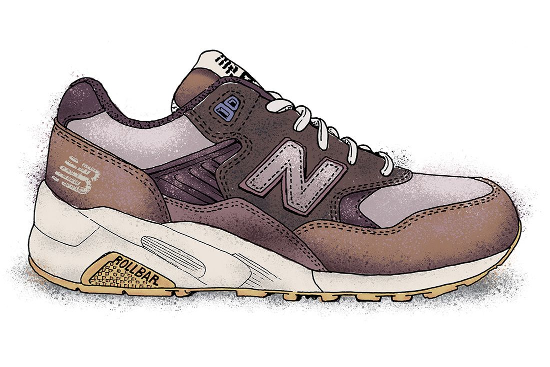 New Balance 580 Illustration 1