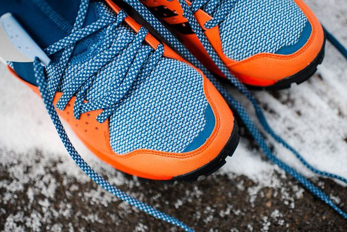 Adidas Response Trail Boost Core Blue Energy Orange 7