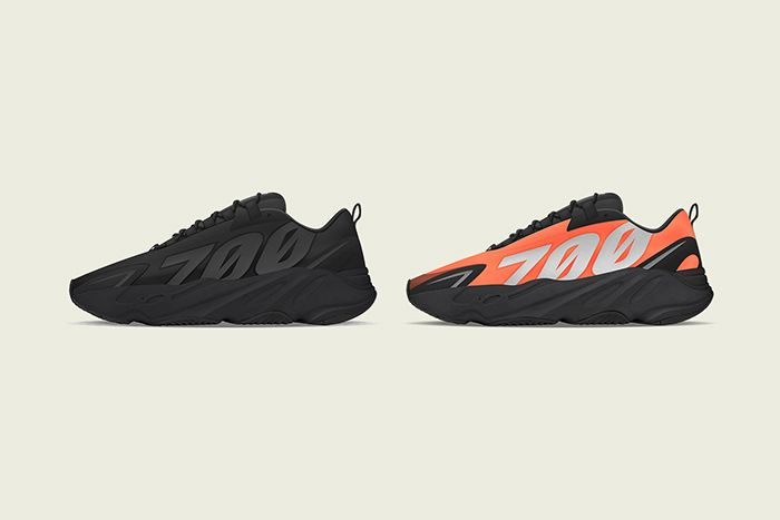 Adidas Yeezy Boost 700 Mnvn Orange Triple Black Release Date Both