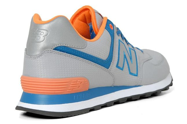 New Balance 574 Windbreaker Pack Grey Heel 1