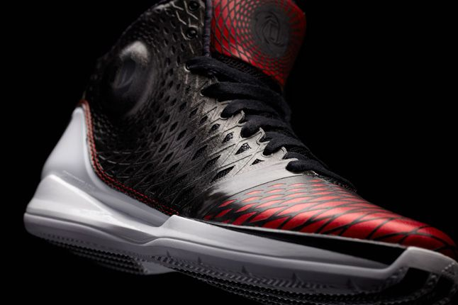 Adidas D Rose 3 Black Red 1