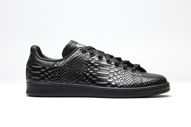 Adidas Originals Stan Smith Black Reptile 1