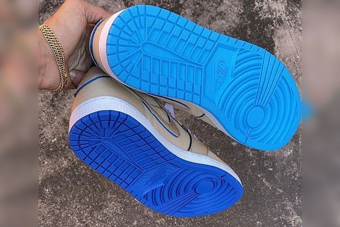 Nike Sb Air Jordan 1 Low Desert Ore Lance Mountain Cj7891 200 Release Date 4 Sole