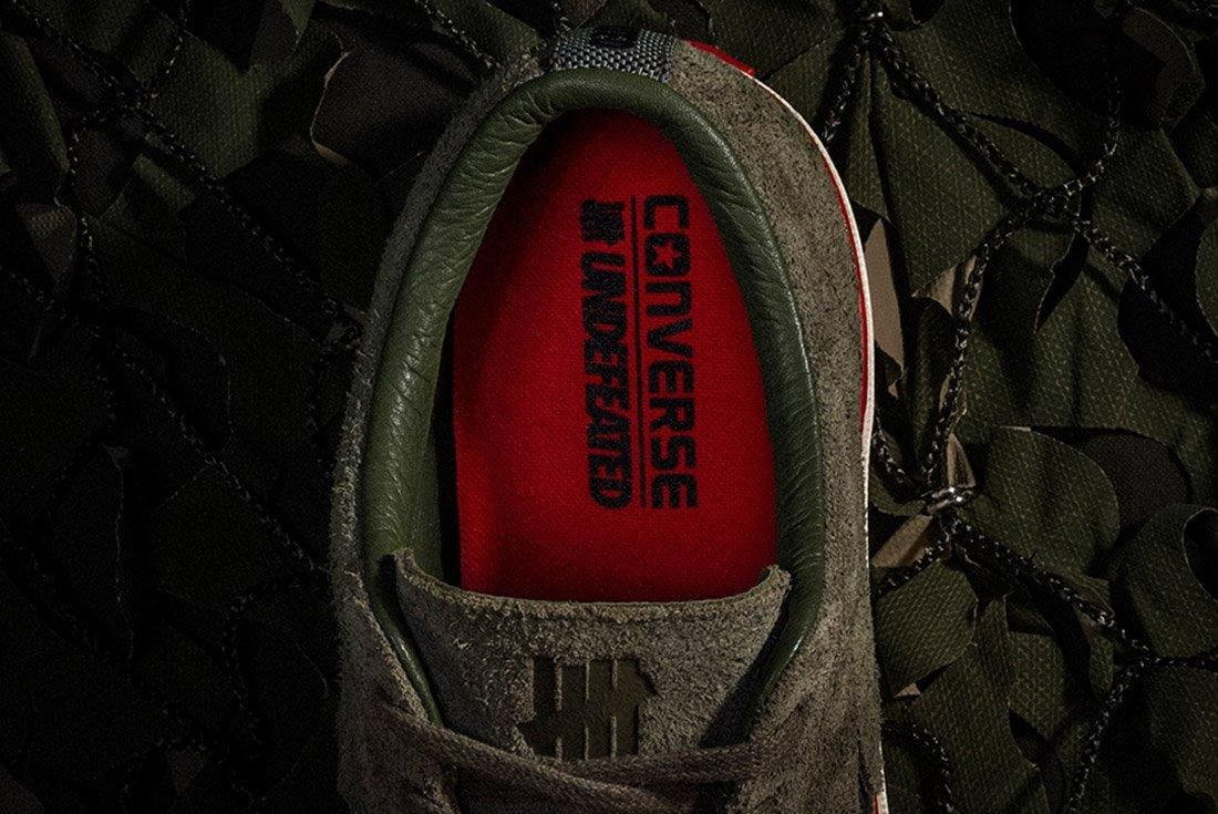Converse Undefeated One Star Suede 6
