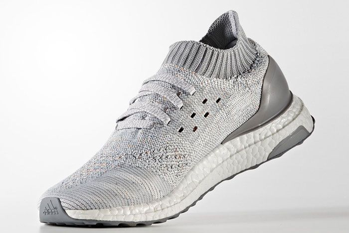 Adidas Ultra Boost Uncaged Light Grey With Color 2