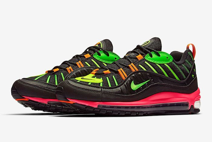 Nike Air Max 98 Neon Highlighter Ci2291 083 Release Date 4