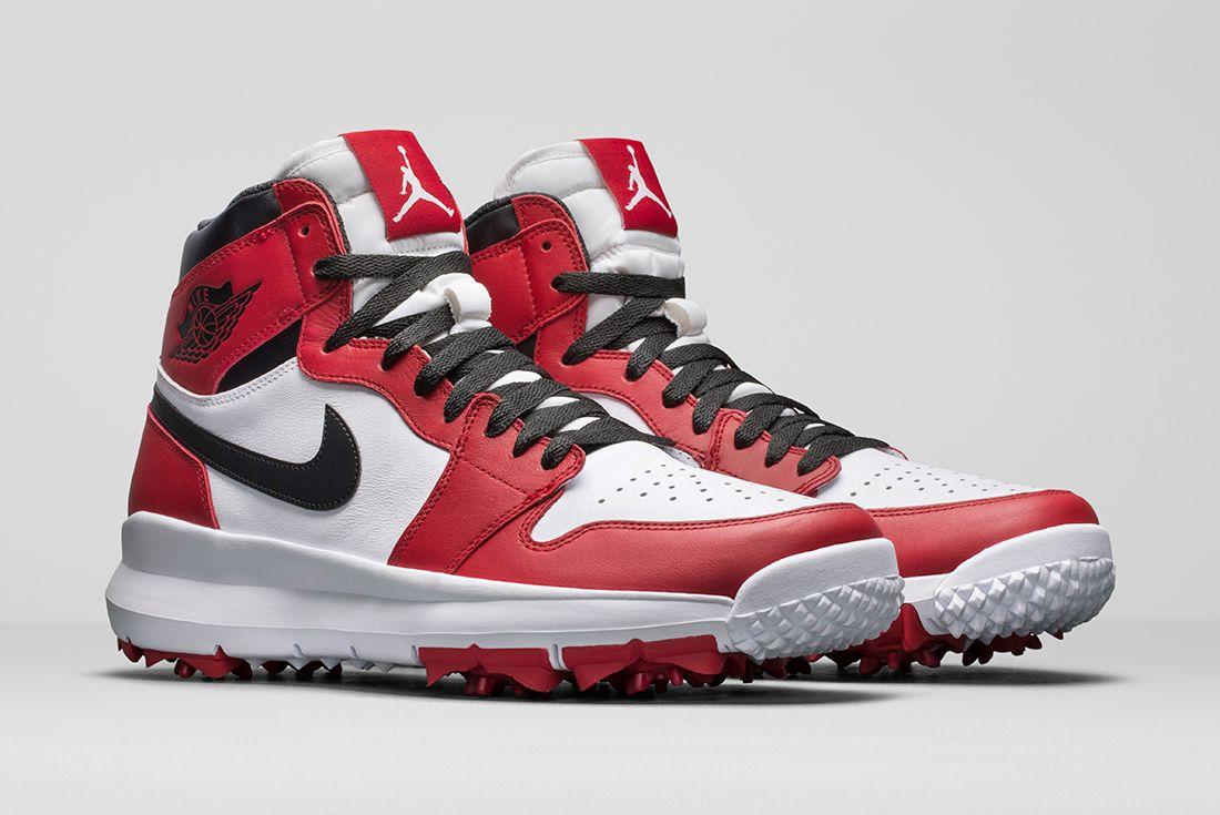Air Jordan 1 Golf Shoefeature